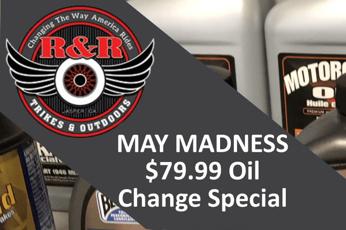May Madness Oil Change Special